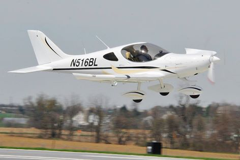 Meyers N516BL in flight